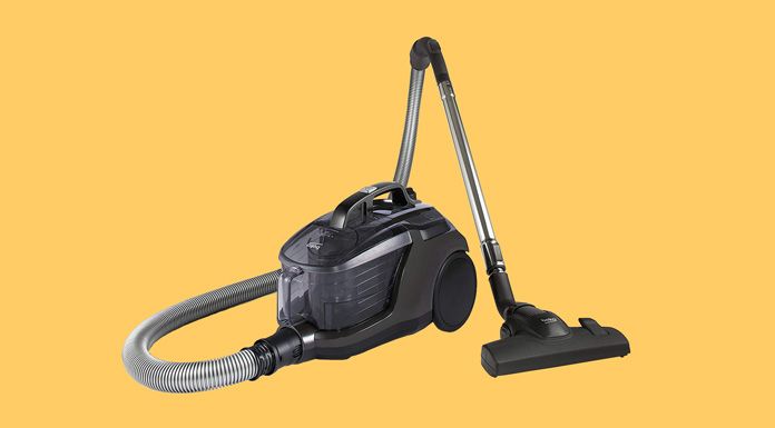 beko bagless cylinder vaccum cleaner with hepa filter and 6m cord