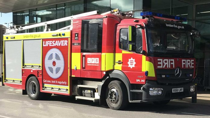 fire engine-smoke alarms save lives lifesaver test it regularly- protect your home