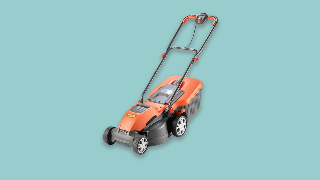 Best corded wheeled lawnmower for medium to large gardens. Wide, lightweight recommended, review best buy UK
