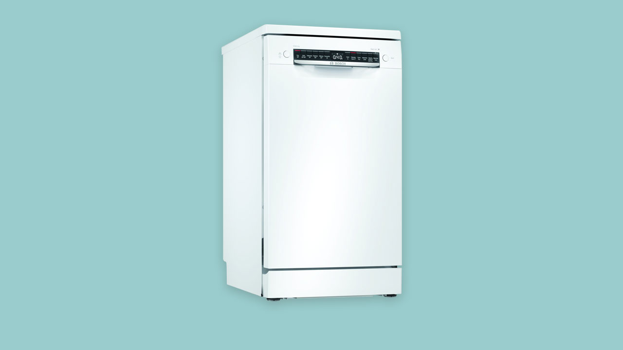 Bosch Serie 4 freestanding slimline dishwasher. Recommended Best Buy