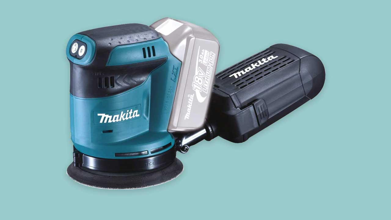 Recommended & best buy cordless random orbital sander from Makita DBO180Z. UK