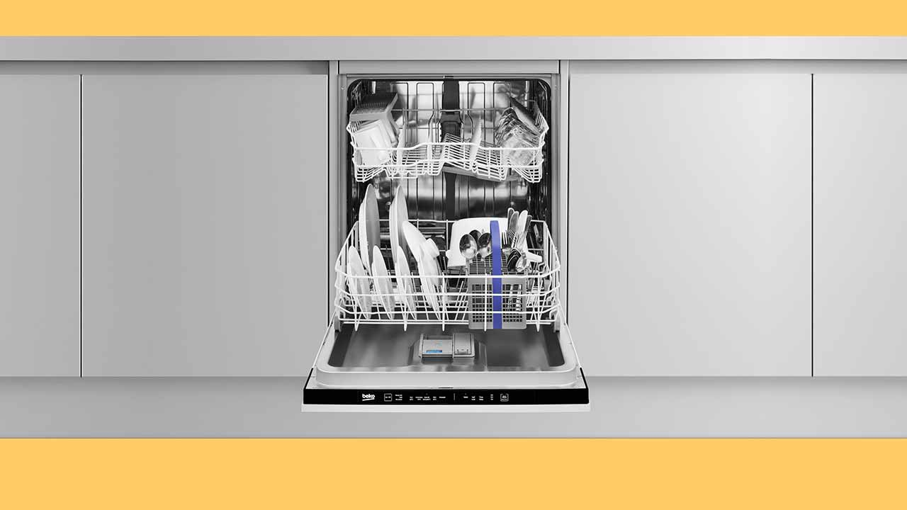Best cheap integrated dishwasher. Recommended Beko built-in to white UK kitchen.