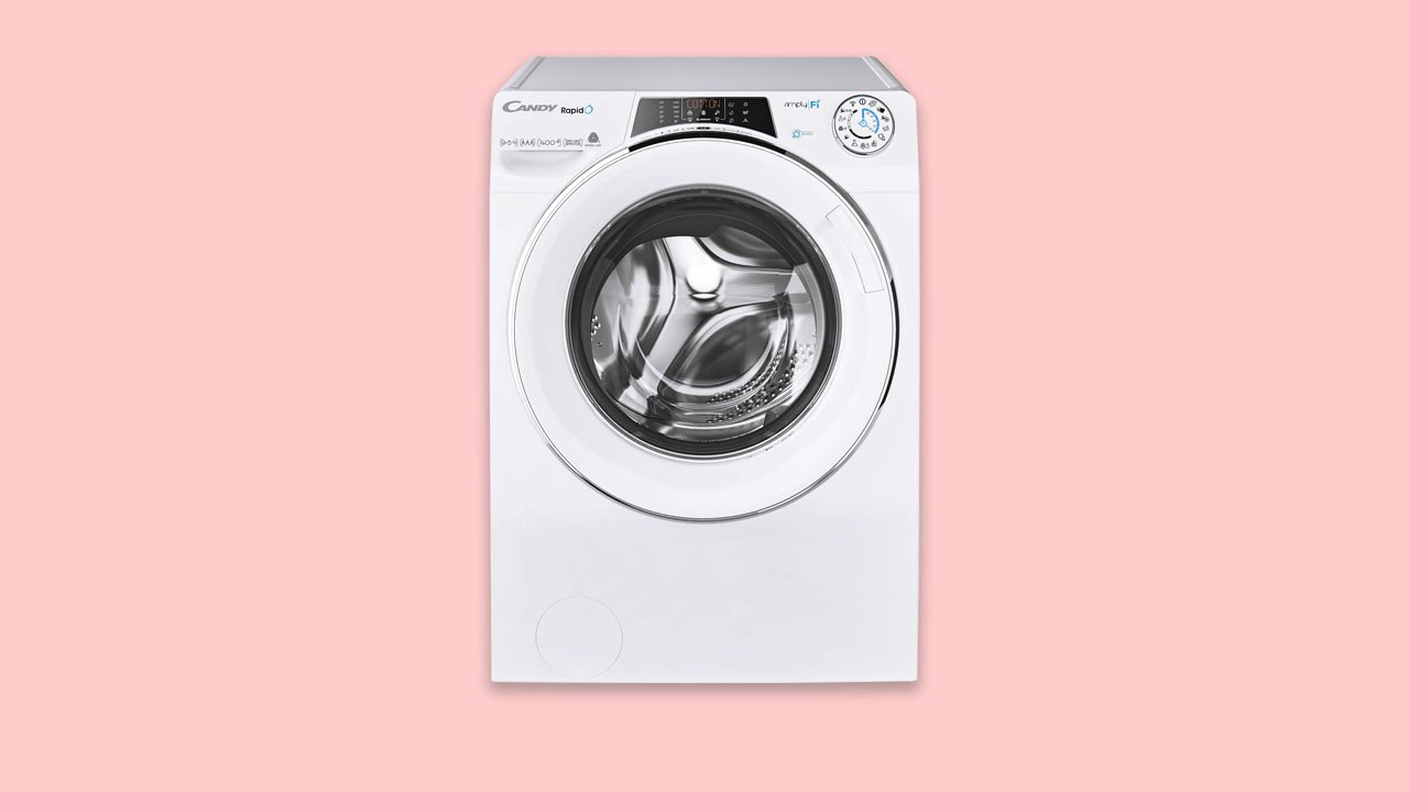 Candy Rapido ROW141066DWHC 10Kg. Recommended large washer dryer for under £500