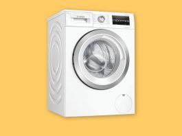 Bosch Serie 6 WAU28S80GB best budget under £600 washing machine