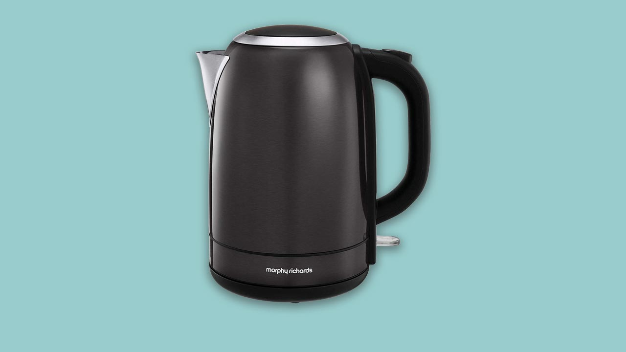 Best buy recommended morphy richards jug kettle in black. Stainless steel, plastic free kettle models 102780, 102781, 102779, 102782. Fast Boil