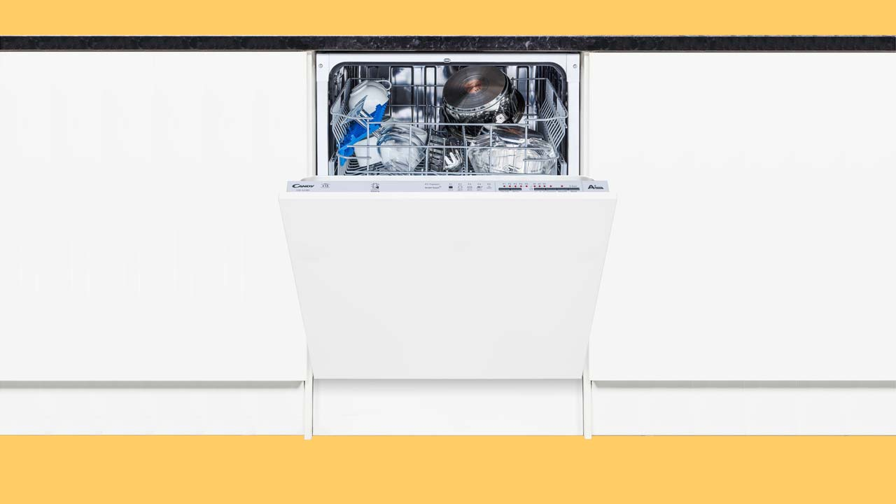 cheap integrated built in dishwasher under £300 recommended Candy UK