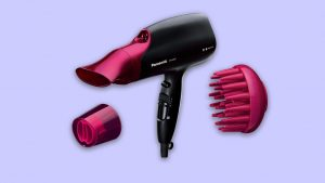 recommended best buy Panasonic Nanoe ionic hair dryer with diffuser & quick dry nozzle UK