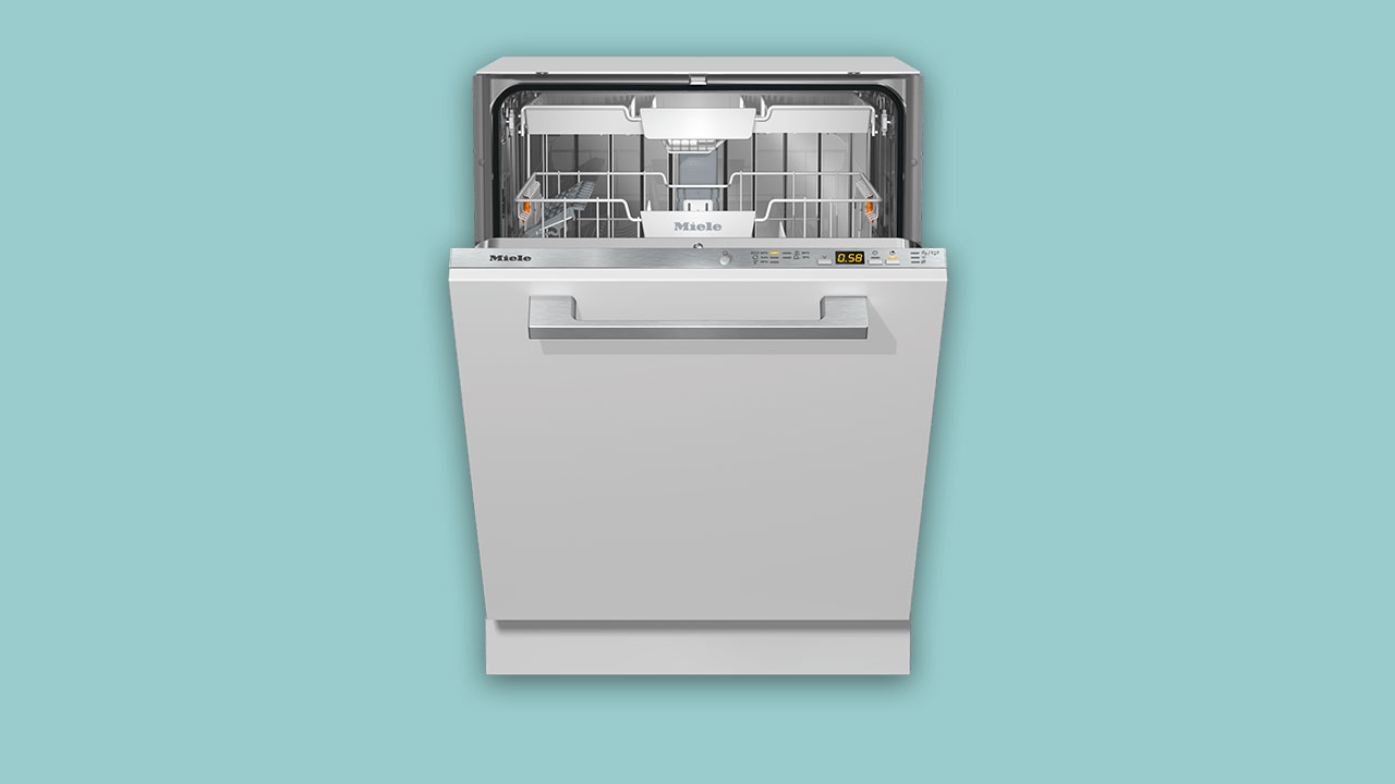 Recommended Miele integrated built-in dishwasher. Best buy XXL dishwasher G5072SCVi