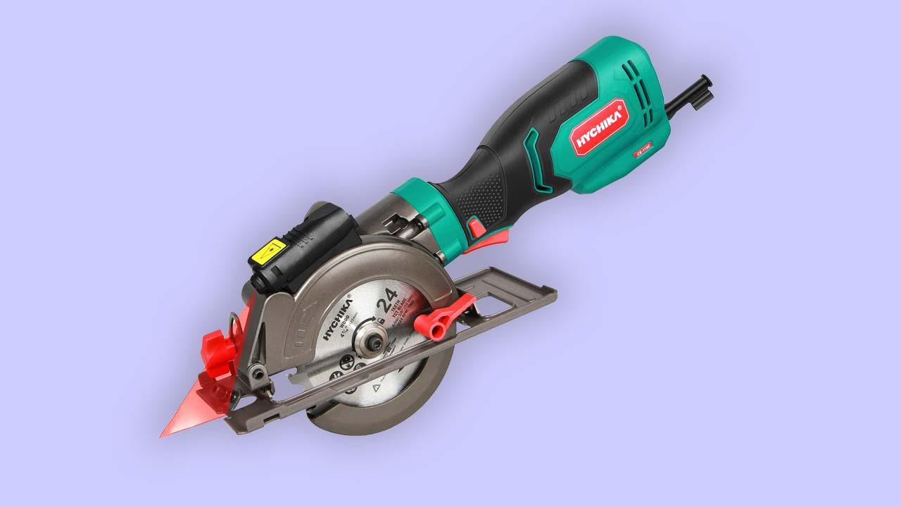 Recommended best mini circular saw Hychika-CS-115C-750W-UK