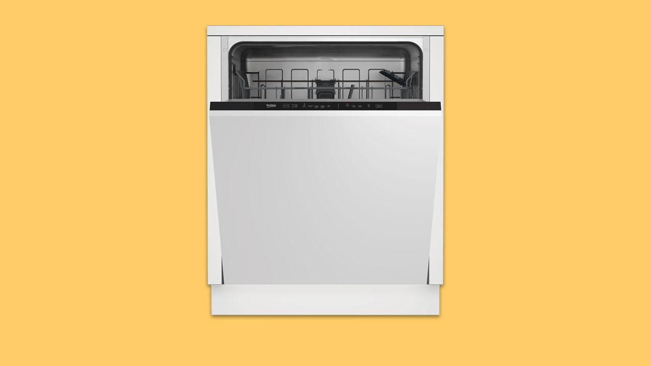 Recommended best buy budget integrated dishwasher under £300 beko DIN15R20 UK
