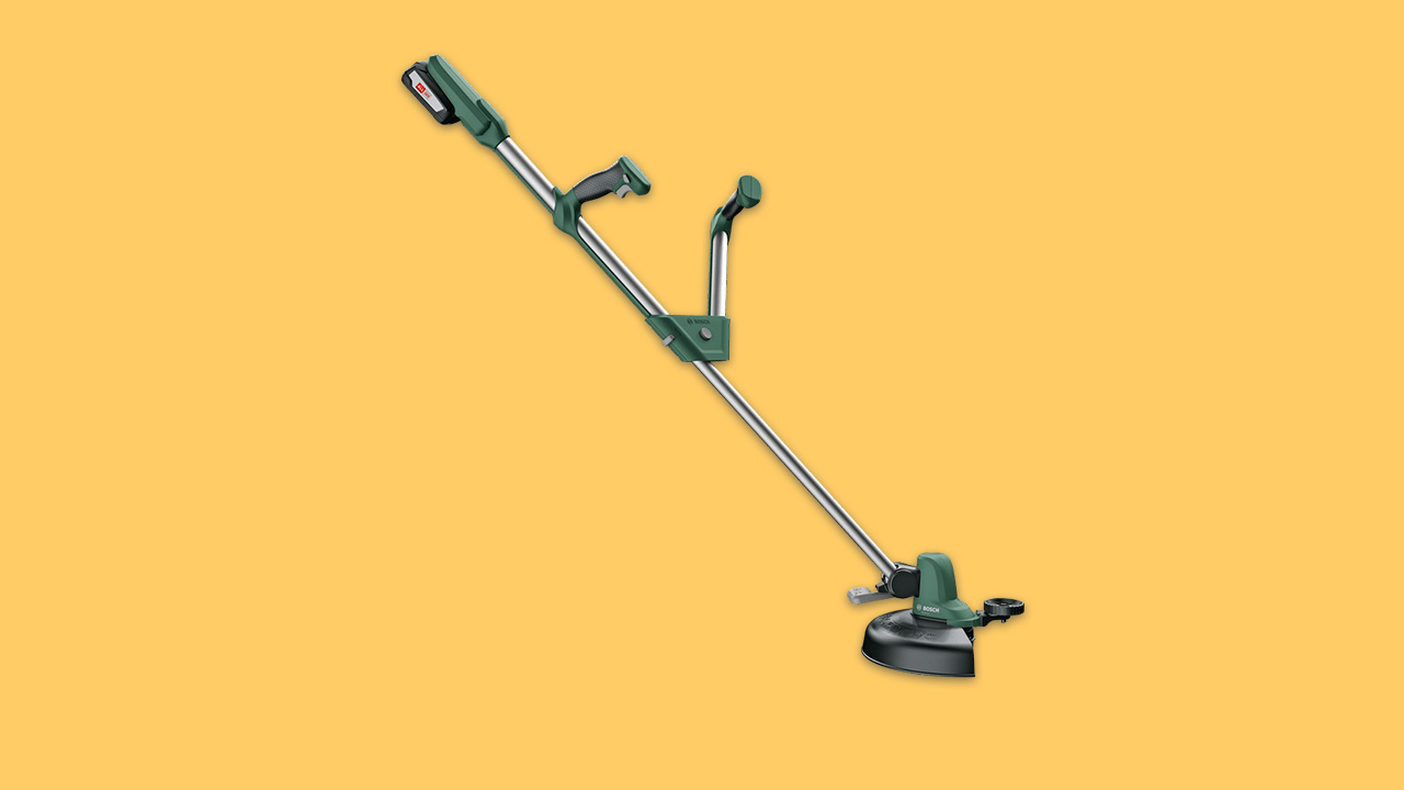 best budget grass trimmer with battery and charger for uk gardens