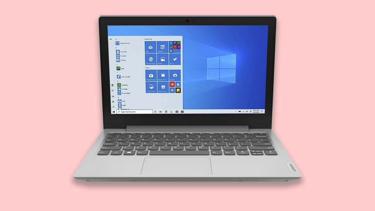 "Budget Best buy Windows 10 laptop-The Lenovo IdeaPad 1 11.6"" Laptop Grey UK"