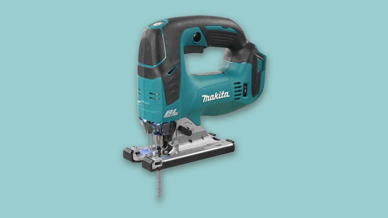 Best Buy UK Cordless professional jigsaw 18V DJV182Z with brushless motor and orbital cutting