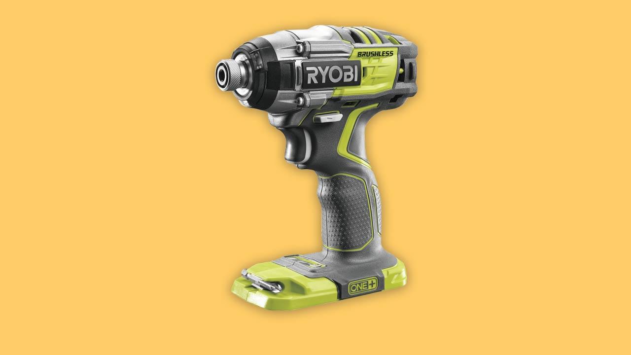 Best buy Ryobi R18IDBL-0 18V ONE+ Cordless Brushless motor Impact Driver. With torque control & 3 LEDs. UK