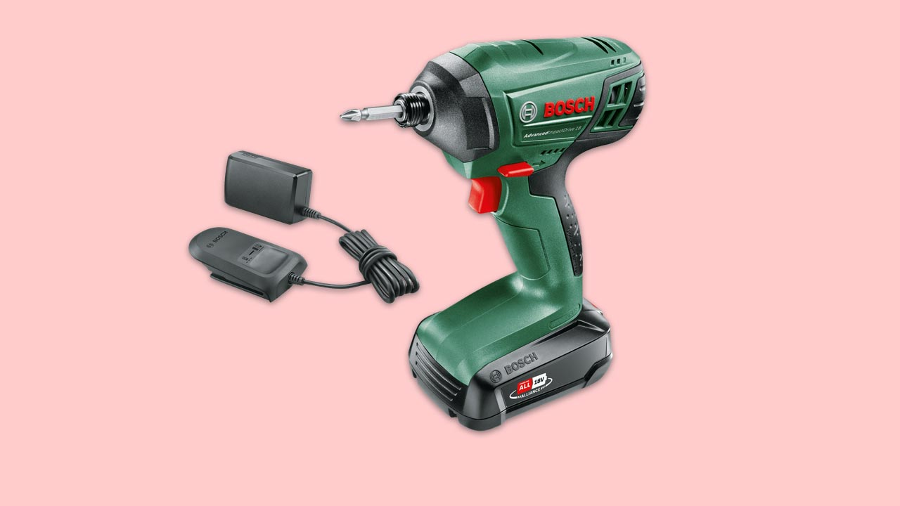 bosch cordless impact driver advanced Impact Drive 18v with battery and charger