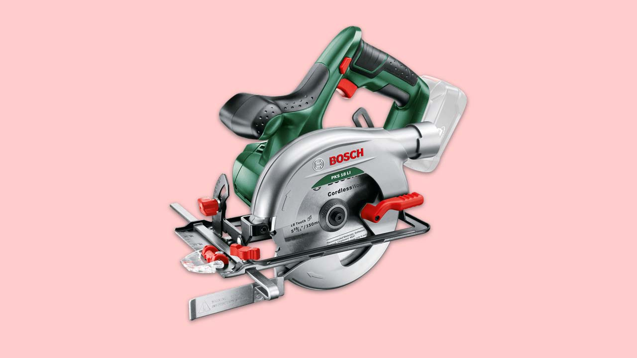 best budget cordless circular saw - bosch PKS 18 Li