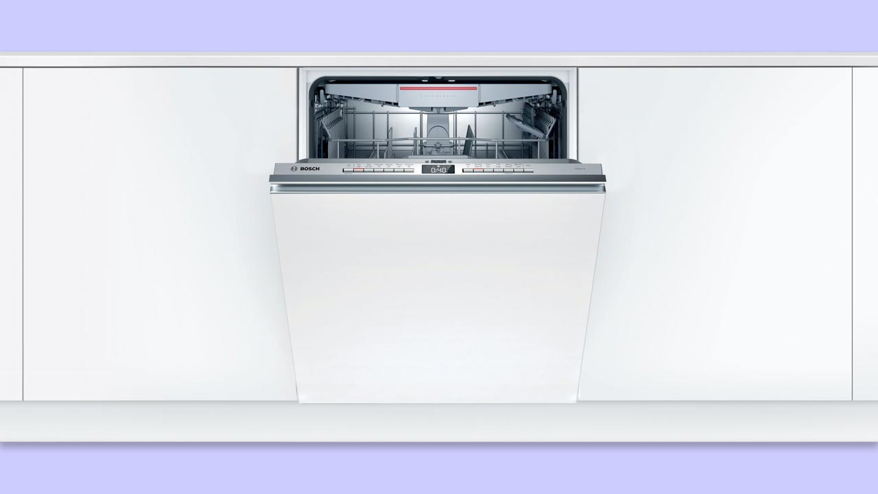 bosch serie 4 integrated dishwasher with cutlery tray