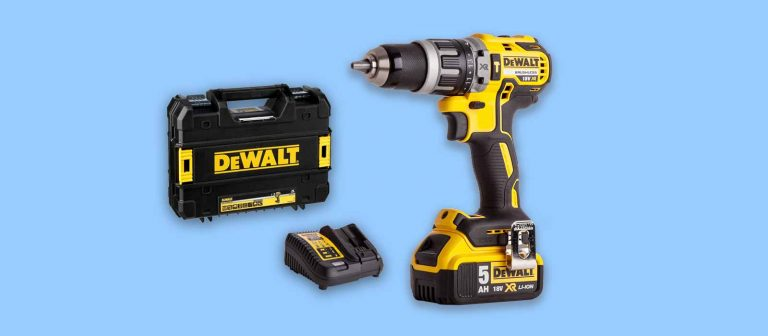 best combi drill dewalt dcd796 with 5ah battery, charger and case
