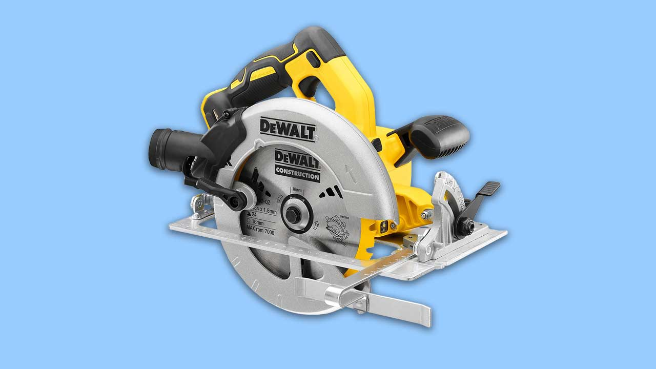 dewalt cordless 18v circular saw with brushless motor brake and all metal construction