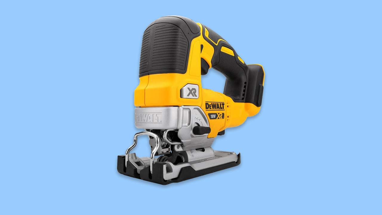 ultimate cordless jigsaw with brushless motor and pro level controls - Dewalt DCS334N