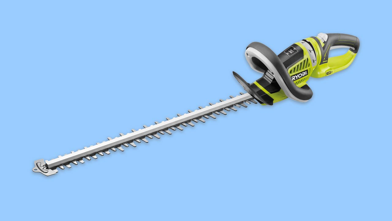Ryobi OHT1855R Cordless Hedge Trimmer with Rotating Grip
