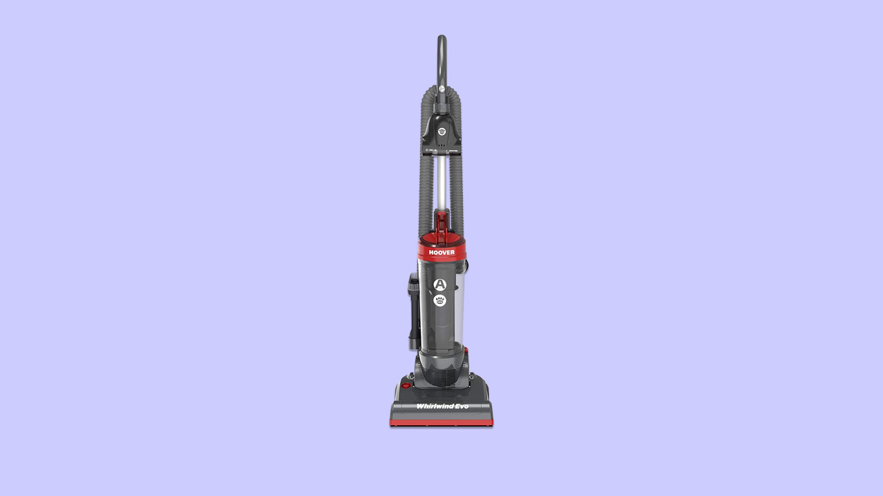 Lightweight upright hoover vacuum cleaner recommended for uk homes with pets