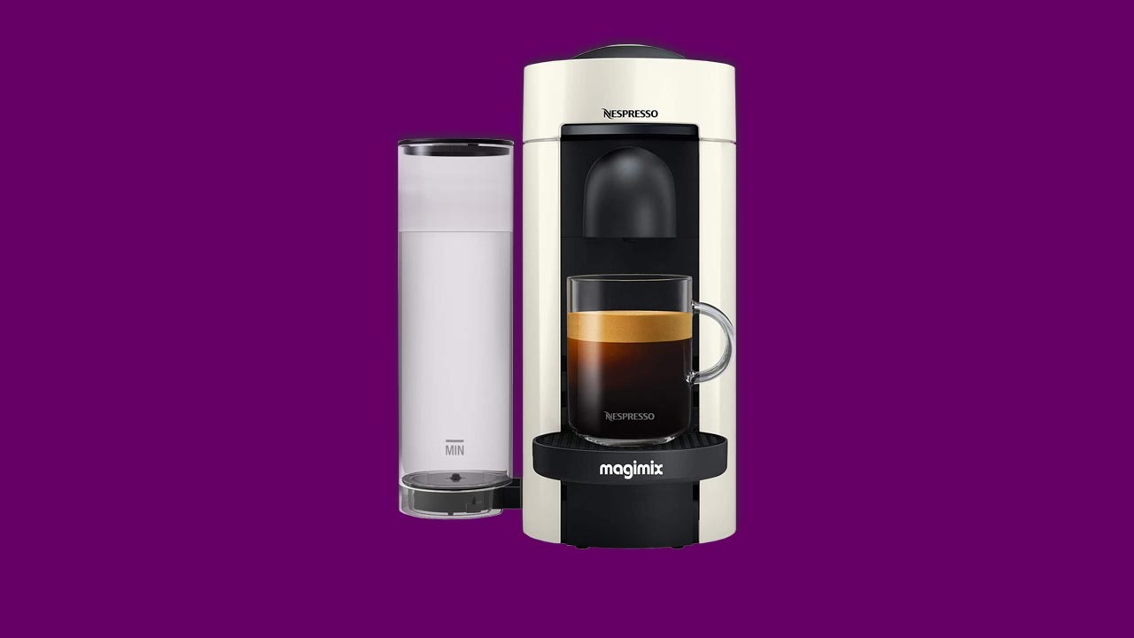 Best Buy Nespresso Vertuo Plus Magimix Coffee Capsule Machine Special Edition-White UK Recommended