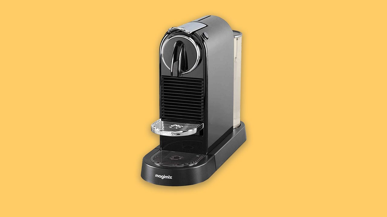 Recommended nespresso original 11315 citiz coffee pod machine in black by magimix with small narrow footprint
