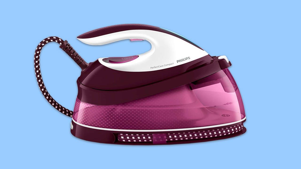 best budget lightweight compact steam generator iron philips GC7842 46