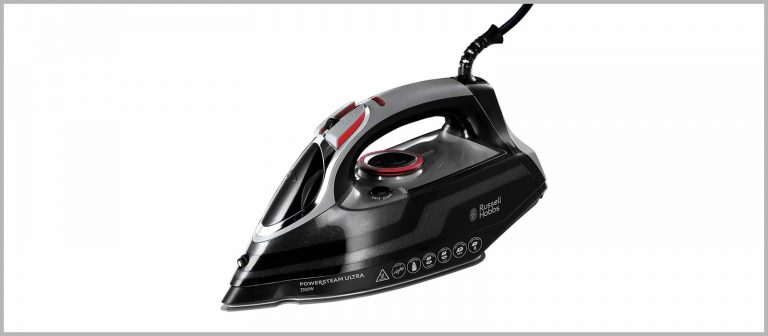 russell hobbs 20630 powerful steam iron with ceramic soleplate uk best seller